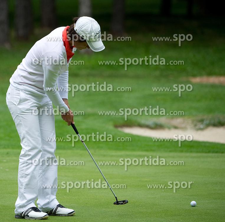 04.09.2010, Golfclub Foehrenwald, Wiener Neustadt, AUT, Golf, Ladies Golf Open Round 2, im Bild Anne LiseCaudal (FRA), EXPA Pictures 2010, PhotoCredit: EXPA/S. Trimmel
