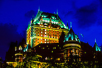 Hotel Fairmont Le Chateau Frontenac, Old Quebec City, Quebec, Canada
