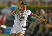 United States forward Christen Press (23)<br /> reacts in an international friendly women's soccer match, Saturday, Aug. 3, 2019,  in Pasadena, Calif., The U.S. defeated Ireland 3-0. (Dylan Stewart/Image of Sport)