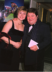 MR & MRS JONATHAN COLEMAN he is the radio presenter, at a dinner in London on 26th October 1998.MLE 17