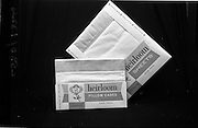 22-23/06/1965<br /> 06/22-23/1965<br /> 22-23 June 1965<br /> Winning packages for the Irish Packaging Institute. Heirloom pillow cases and sheets.