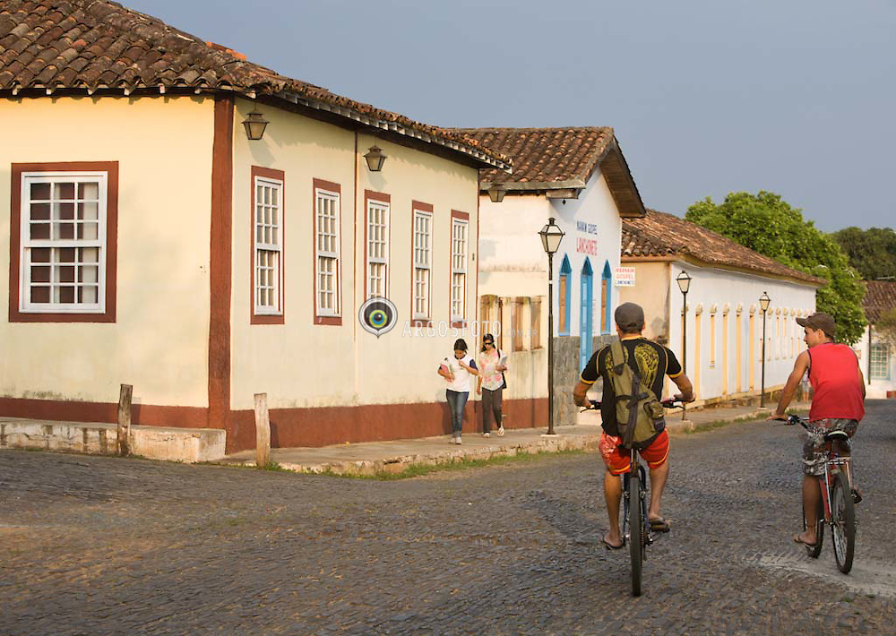 Cidade historica de Pirenopolis, em Goias. / Pirenopolis is a town located in the Brazilian state of Goias. It is well-known for its waterfalls and colonial architecture