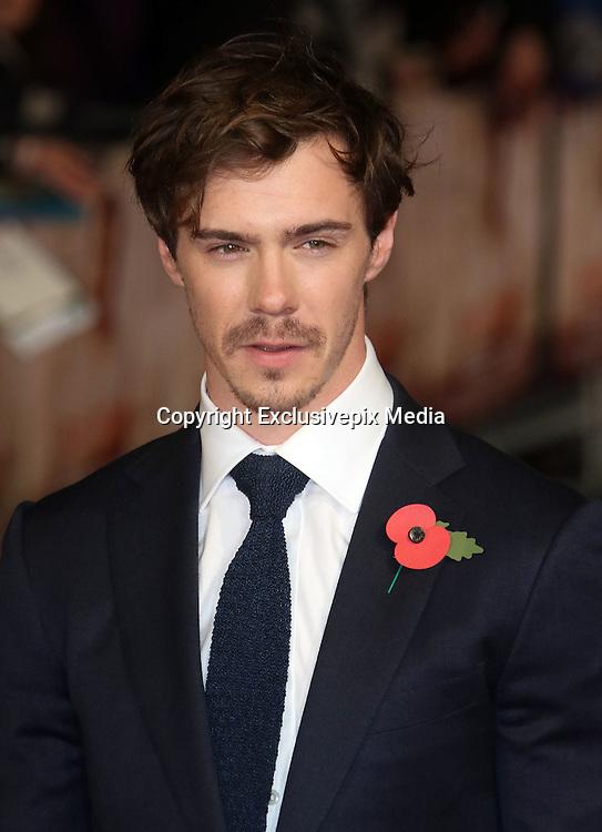 October 28, 2015 - Sam Keeley attending 'Burnt' European Premiere at Vue West End, Leicester Square in London, UK.<br /> ©Exclusivepix Media