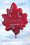 Canadian hot air balloon