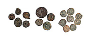 Herod the Great bronze coins 1st century BCE