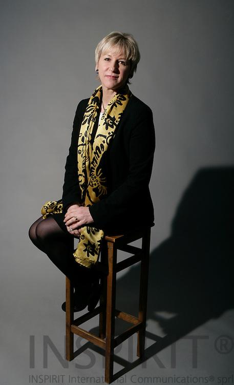 BRUSSELS - BELGIUM - 31 JANUARY 2007 -- Margot Wallström til den Heta Stolen.   PHOTO: ERIK LUNTANG