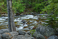 Piney Creek flows through the Bighorn Mountains west of Story.