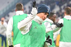 December 20, 2017 - Turin, Piedmont, Italy - Paulo Dybala (Juventus FC) before the Italian Cup football match between Juventus FC and Geona CFC at Allianz Stadium on 20 December, 2017 in Turin, Italy. ..Juventus won 2-0 over Genoa. (Credit Image: © Massimiliano Ferraro/NurPhoto via ZUMA Press)