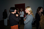 ALICE RAWTHORN; IWONA BLAZWICK, Mark Rothko private view. Tate Modern. 24 September 2008 *** Local Caption *** -DO NOT ARCHIVE-© Copyright Photograph by Dafydd Jones. 248 Clapham Rd. London SW9 0PZ. Tel 0207 820 0771. www.dafjones.com.