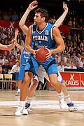 Finlandia, 12/08/2009<br /> Eurobasket Men 2009 Additional Qualifying Round Finlandia Italia <br /> Nella foto: Andrea Bargnani