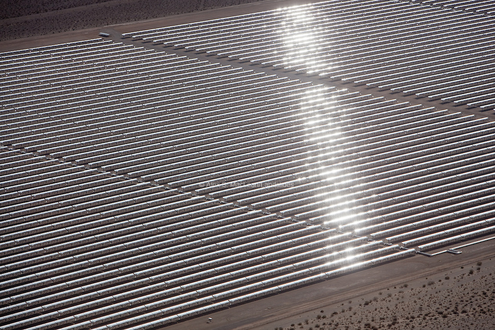 Nevada Solar One, a 400-acre, 64-megawatt plant, harnesses solar energy to power more than 14,000 homes every year. It is the third-largest concentrating solar power plant in the world and the first such plant built in 17 years