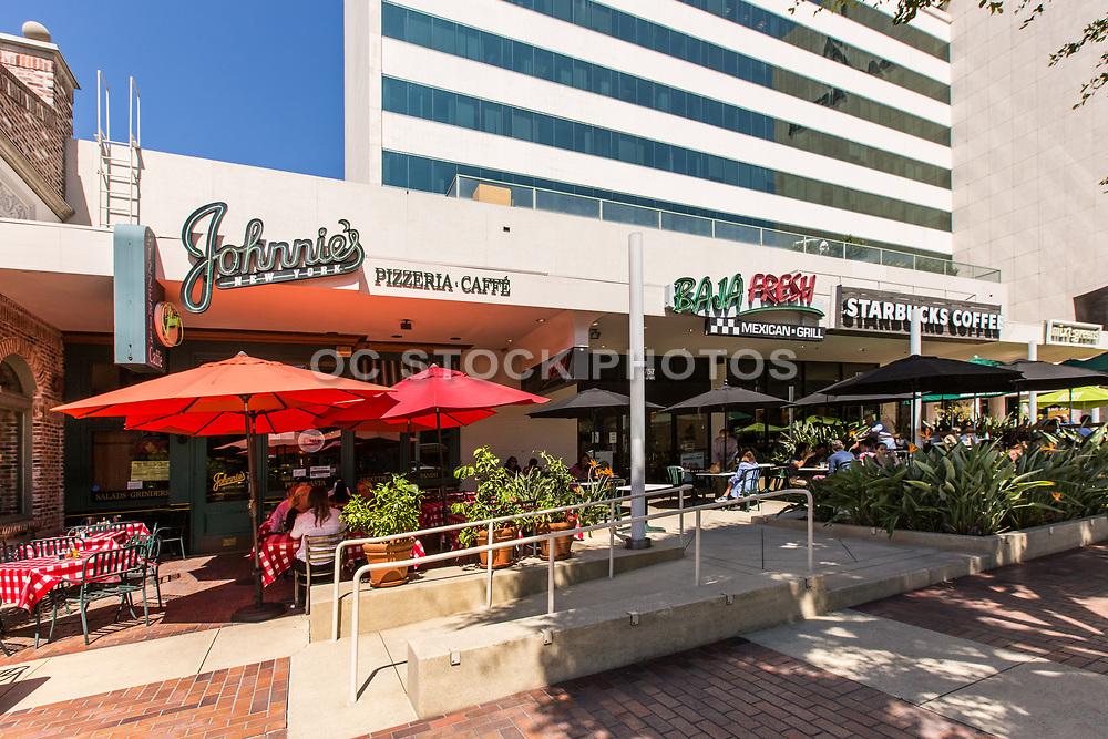 Restaurants on Wilshire Blvd Next to Sag-Aftra Building
