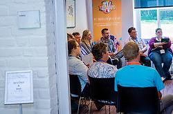04-06-2016 NED: Bestuurders Congres Samen Sterk, Amersfoort<br /> Het platform voor kennisdeling en uitwisseling van ervaringen door de sportbonden  Nevobo en NBB in het Leerhotel Het Klooster te Amersfoorn