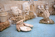 Israel, Jaffa, A fountain in Kikar Kedumim in the renovated Old City