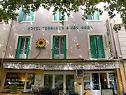 the house where Vincent van Gogh lived during his stay in Arles France