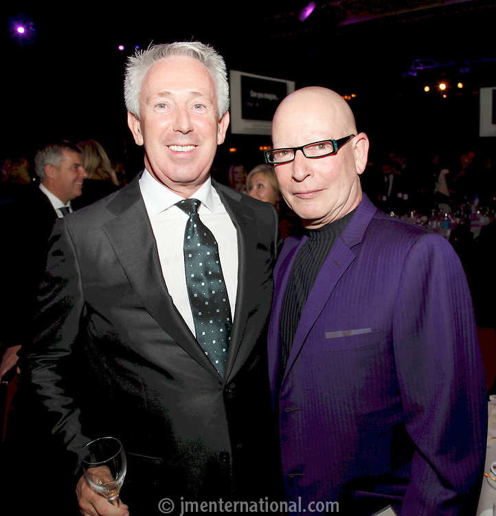 Patrick McKenna (Chief executive  Ingenious Media Group) and Anthony Van Laast. The 2011 MIT Awards. Held at the Grosvenor Hotel London in aid of Nordoff Robbins and the BRIT School..Monday, Nov.7, 2011