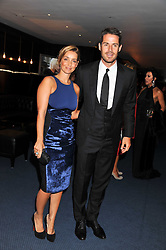 JAMIE & LOUISE REDKNAPP at the GQ Men of the Year 2011 Awards dinner held at The Royal Opera House, Covent Garden, London on 6th September 2011.
