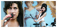 Amy Winehouse at the Isle of Wight Festival