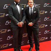 Hurlingham Club ,London, England, UK. 10th July, 2017. Jonny Dodge attend The Grand Prix Ball attracted a host of star-studded celebrity guests last night at Hurlingham Club , including Formula 1 drivers as well as iconic Formula 1 cars. Guests mingled with the elite whist being enterained with live performances by award winning UK artists and DJs ahead of the British Grand Prix at Silverstone.