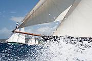 Mariette, Skylge, Tiziana at the Antigua Classic Yacht Regatta