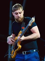 Rob Clayton of The Dunwells performs at Sixways Stadium - Mandatory by-line: Matt McNulty/JMP - 14/07/2017 - Sixways Stadium - Worcester, England
