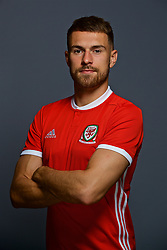 CARDIFF, WALES - Tuesday, September 4, 2018: Wales' Aaron Ramsey. (Pic by David Rawcliffe/Propaganda)