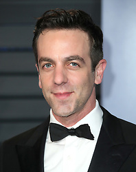 vanity fair oscar party in Hollywood, CA. 04 Mar 2018 Pictured: BJ Novak. Photo credit: MEGA TheMegaAgency.com +1 888 505 6342