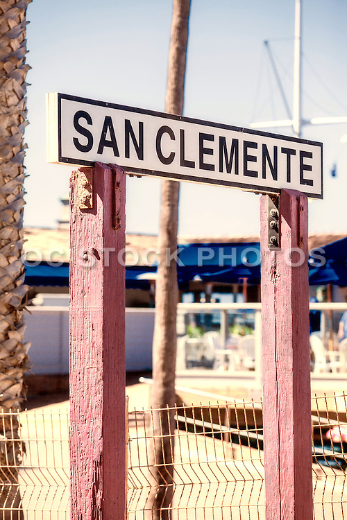 San Clemente at the Pier
