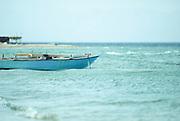 Egypt, Sinai, Bir Sweir Fishing boat on the Red Sea