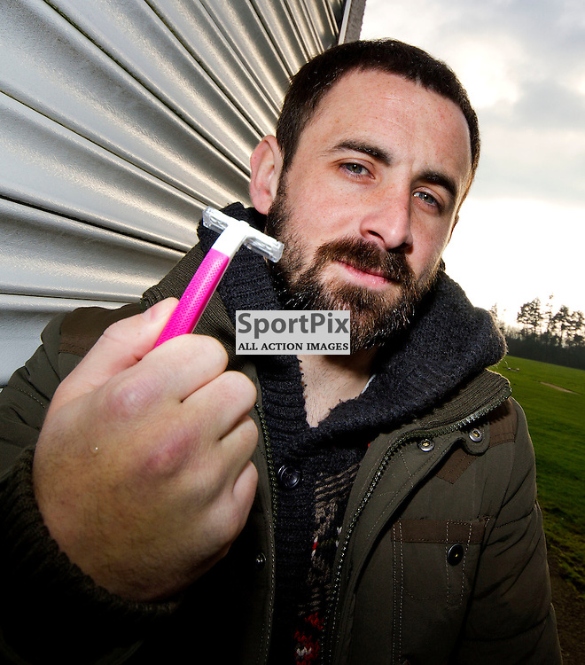 The Clydesdale Bank Scottish Premier League, Season 2011/12.Dunfermline Athletic Football Club - Pre match news conference (Inverness Caley Thistle).17-01-12...David Graham, who has vowed not to shaves his beard off untill the pars next win, talks t the press in this afternoons Dunfermline Athletic FC Pre match news conference ahead of their Scottish Cup tie replay against Inverness..At Pitreavie- Dunfermline Academy of sport, Dunfermline...Picture, Craig Brown ..Tuesday 17th January 2012.