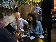 MICHAEL LANDY; GILLIAN WEARING,, The Approach 20th Anniversary party. The Approach, Bethnal Green. London. 3 July 2017