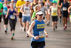 Boston Athletic Association 10K road race: Stokes, Jessica