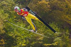 Justin Rok during national competition in Ski Jumping, 8th of October, 2016, Kranj,  Slovenia. Photo by Grega Valancic / Sportida