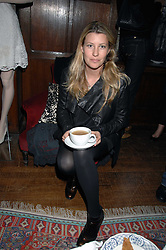 SARA PARKER BOWLES at a tea party to launch Pearl Lowe's Spring 2007 fashion collection held at Libery, Great Marlborough Street, London on 20th March 2007.<br />