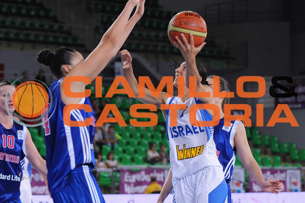 DESCRIZIONE : Bydgoszcz Poland Polonia Eurobasket Women 2011 Round 1 Gran Bretagna Israele Great Britain Israel<br /> GIOCATORE : Liron Cohen<br /> SQUADRA : Israele Israel<br /> EVENTO : Eurobasket Women 2011 Campionati Europei Donne 2011<br /> GARA : Gran Bretagna Israele Great Britain Israel<br /> DATA : 20/06/2011 <br /> CATEGORIA : <br /> SPORT : Pallacanestro <br /> AUTORE : Agenzia Ciamillo-Castoria/M.Marchi<br /> Galleria : Eurobasket Women 2011<br /> Fotonotizia : Bydgoszcz Poland Polonia Eurobasket Women 2011 Round 1 Gran Bretagna Israele Great Britain Israel<br /> Predefinita :