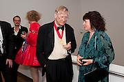 SIR NICHOLAS GRIMSHAW; DORA HOWARD, Royal Academy Schools Annual dinner and Auction 2012. Royal Academy. Burlington Gdns. London. 20 March 2012.