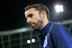Gareth Southgate, head coach during a tour of the stadium before an England press conference ahead of the football match between National teams of Slovenia and England in Round #3 of FIFA World Cup Russia 2018 Qualifier Group F, on October 10, 2016 in SRC Stozice, Ljubljana, Slovenia. Photo by Morgan Kristan / Sportida