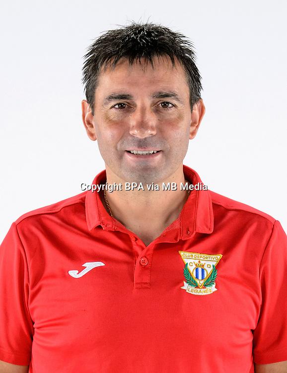 Spain - La Liga Santander 2016-2017 / <br /> ( C.D. Leganes ) - <br /> Asier Garitano Aguirrezabal - DT C.D. Leganes