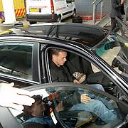 NLD/Rotterdam/20060604 - Vriendschappelijke wedstrijd Nederland - Australie, geblesserde Wesley Sneijder