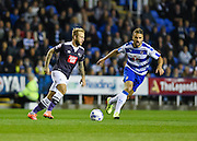 Johnny Russell on the ball during the Sky Bet Championship match between Reading and Derby County at the Madejski Stadium, Reading, England on 15 September 2015. Photo by David Charbit.