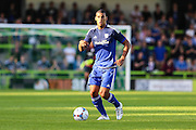 Cardiff Citys Lee Peltier during the Pre-Season Friendly match between Forest Green Rovers and Cardiff City at the New Lawn, Forest Green, United Kingdom on 15 July 2015. Photo by Shane Healey.