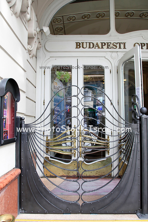 Budapest, Hungary Opera building