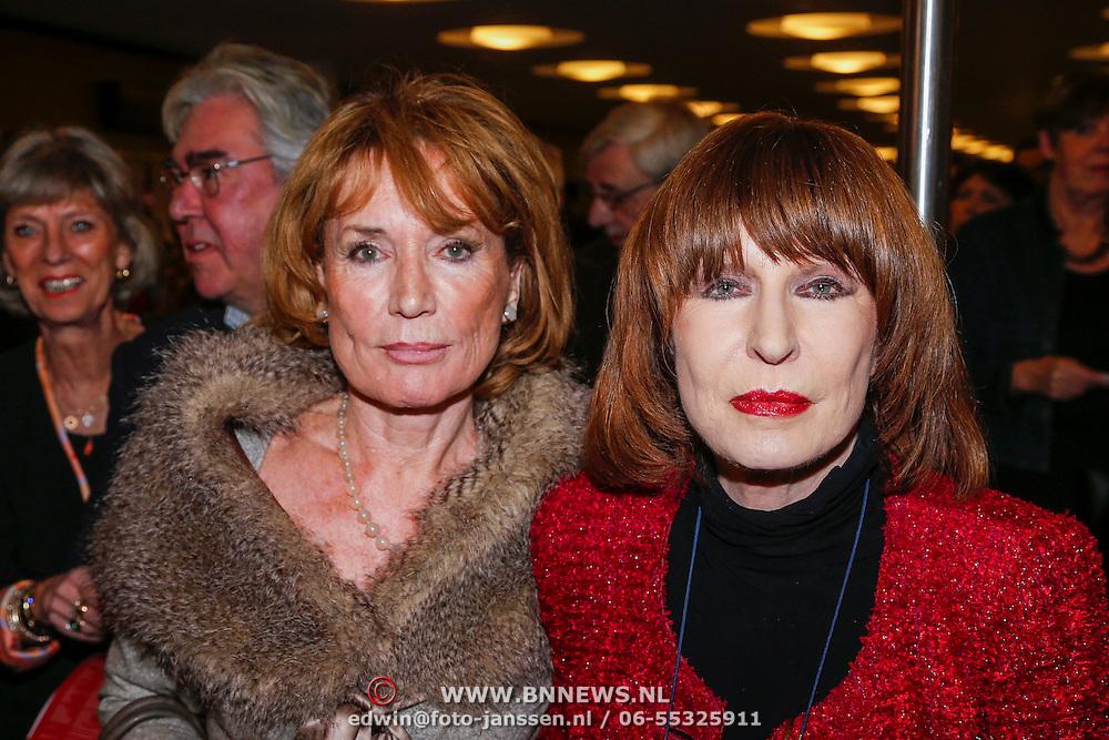 NLD/Utrecht/20130122 - Premiere Adele, Annemarie Oster en Liesbeth List