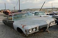 USA,Nevada, Tonopah,junkyard