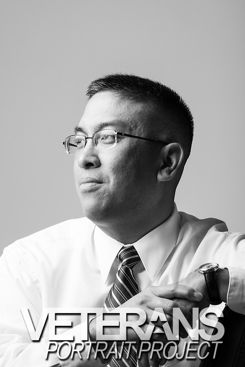 Andrew Chu<br /> Air Force<br /> O-4<br /> Physician<br /> 1991 - 1998<br /> <br /> Veterans Portrait Project<br /> Philadelphia, PA