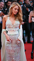 Blake Lively at the the Mr. Turner gala screening red carpet at the 67th Cannes Film Festival France. Thursday 15th May 2014 in Cannes Film Festival, France.