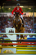 Maurice TEBBEL (GER) riding Chaccos' Son during the Nations Cup of the World Equestrian Festival, CHIO of Aachen 2018, on July 13th to 22th, 2018 at Aachen - Aix la Chapelle, Germany - Photo Christophe Bricot / ProSportsImages / DPPI