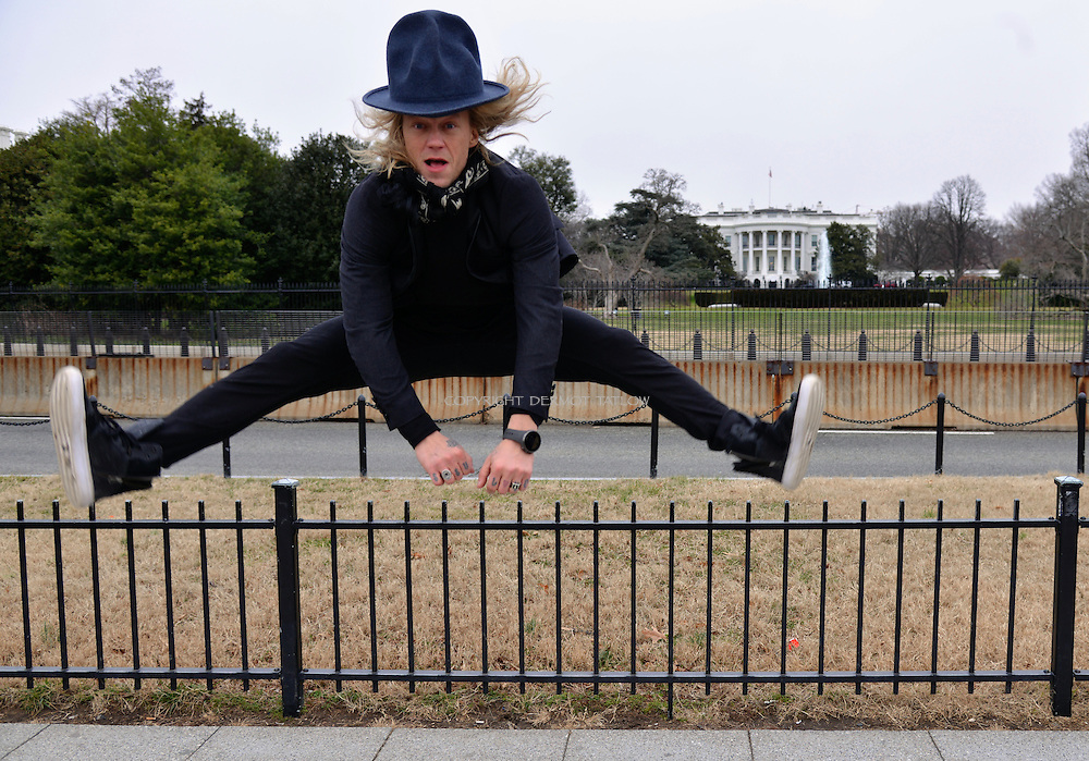 Jukka Hilden is  a Finnish stunt performer, actor and member of the extreme stunt group The Dudesons. Invited to the White House for a digital influencer group.