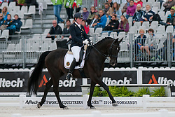 Ciska Vermeulen riding Whooney Tunes in the Grade IV Individual Tests at the 2014 World Equestrian Games, Caen, Normandy, France