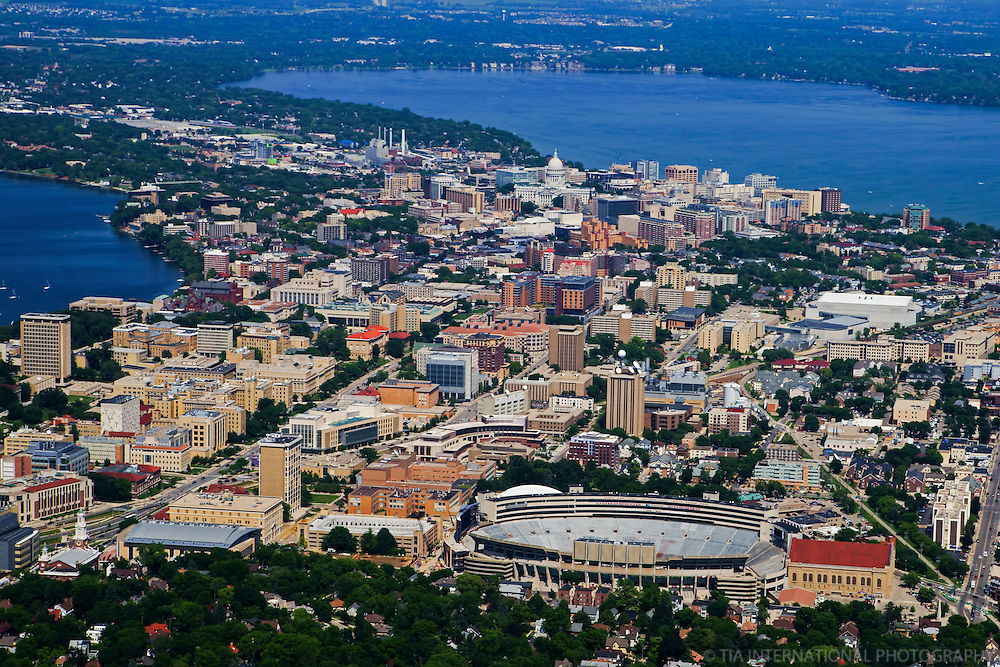 University of Wisconsin & Downtown Madison